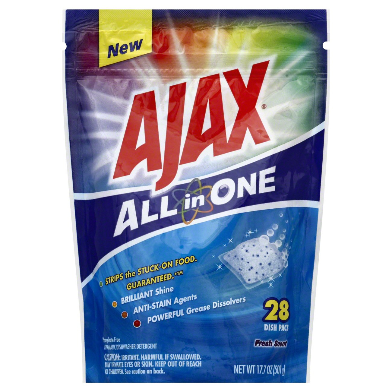 Ajax All In One 28 Cnt Dish Pacs
