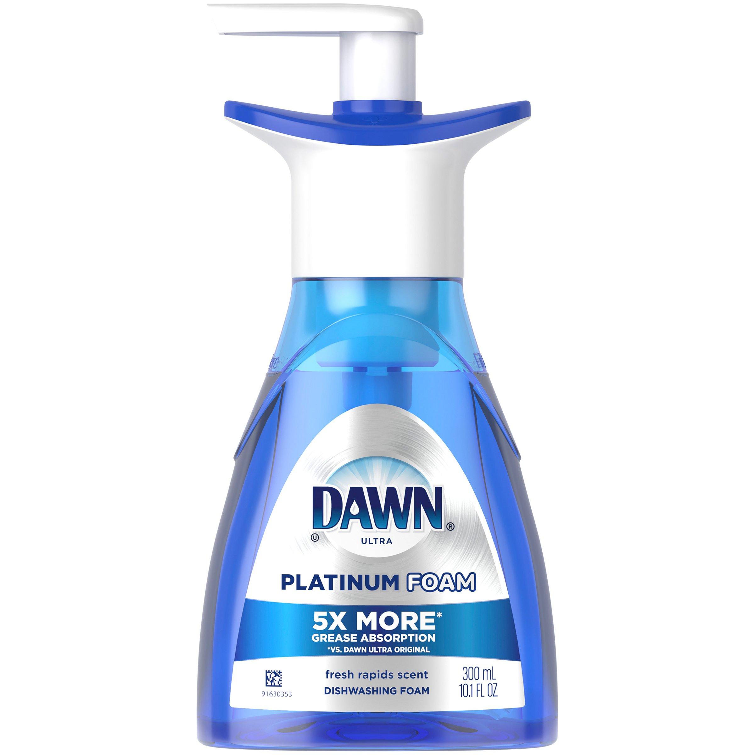 Dawn Platinum Erasing Dishwashing Foam, Fresh Rapids