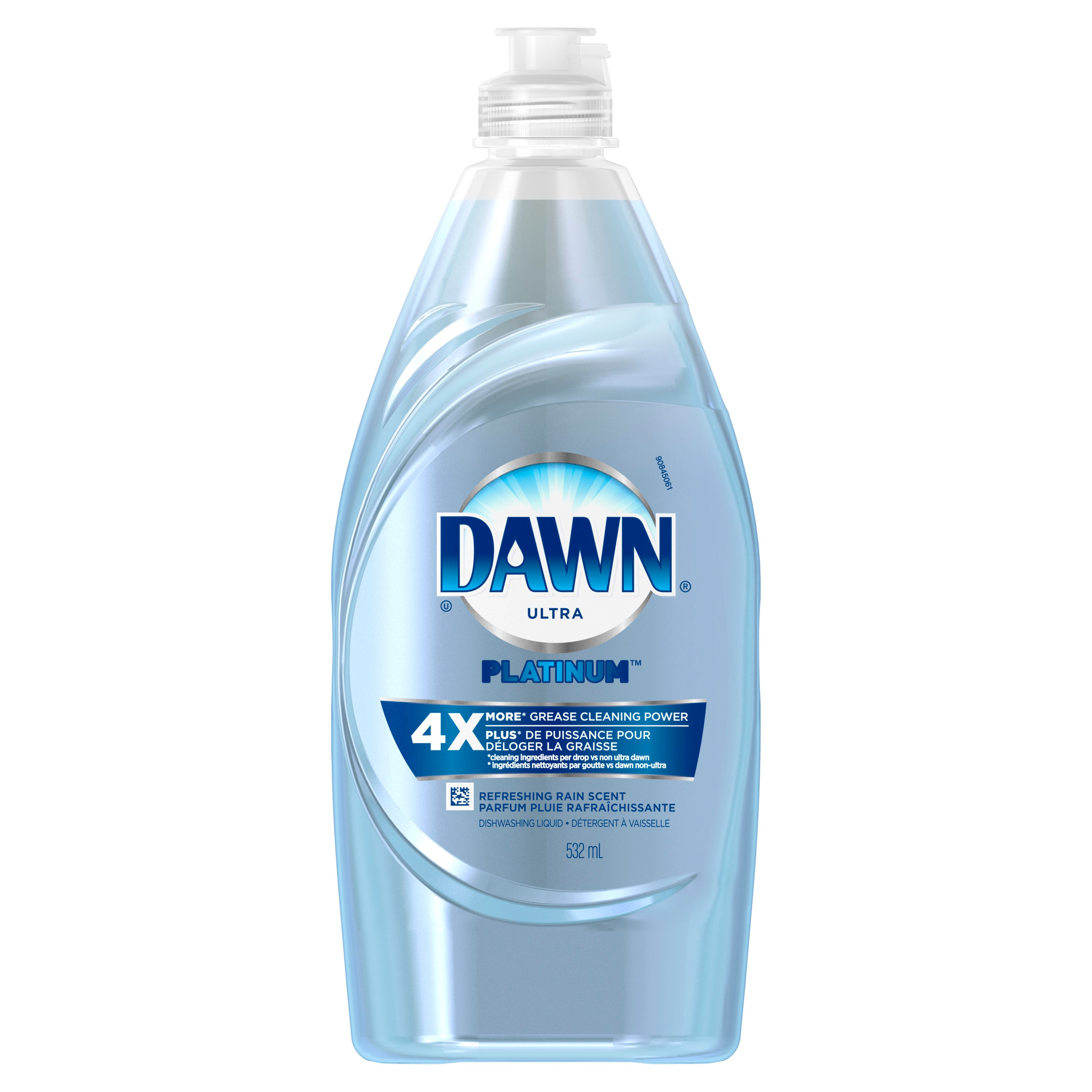 Dawn Power Clean Ultra Concentrated Refreshing Rain Scent Dishwashing Liquid