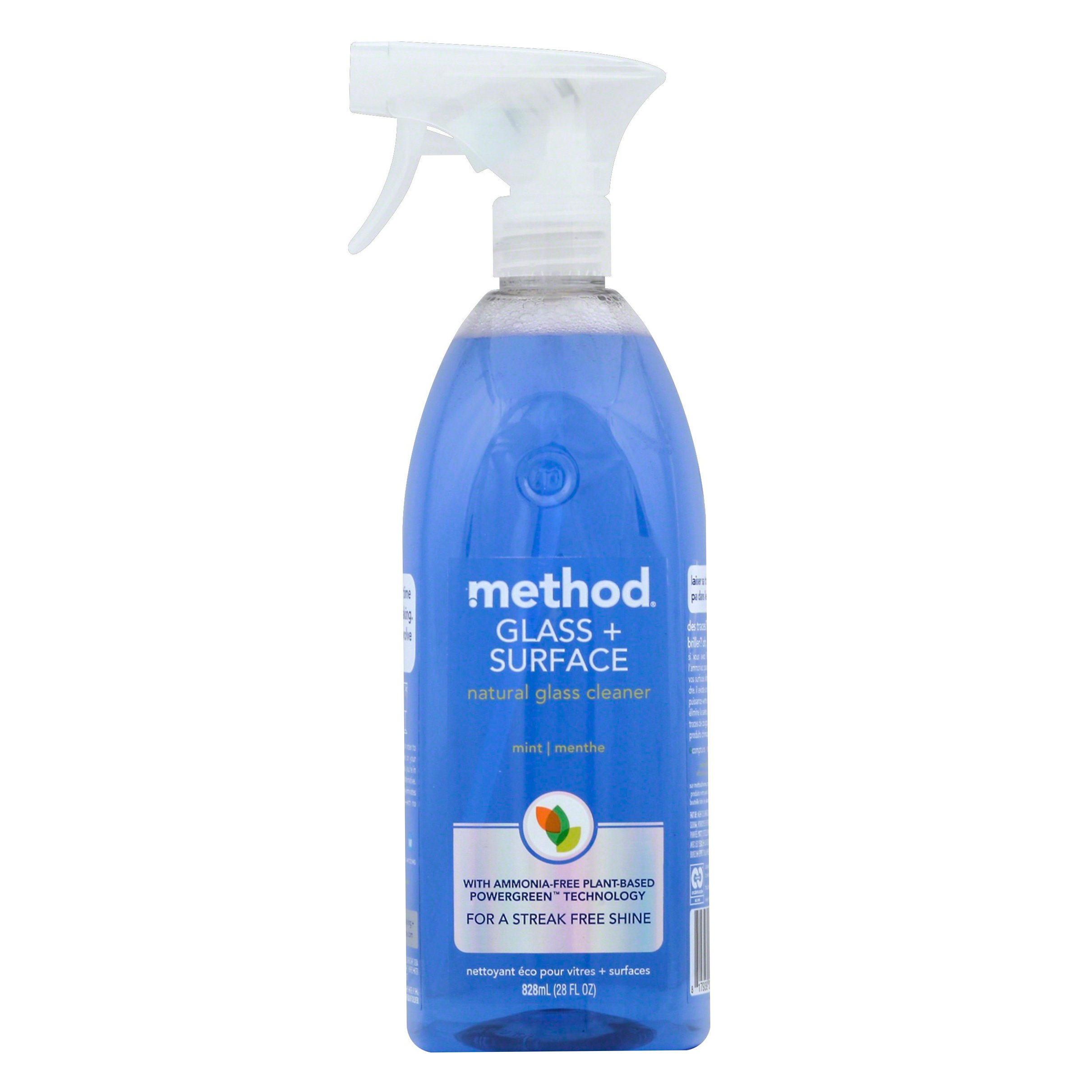 Method Natural Glass + Surface Mint Cleaner