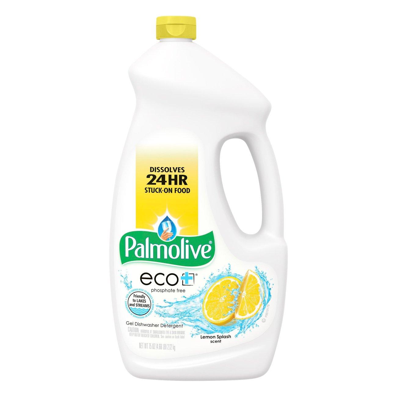 Palmolive Eco+ Lemon Splash Scent Gel Dishwasher Detergent
