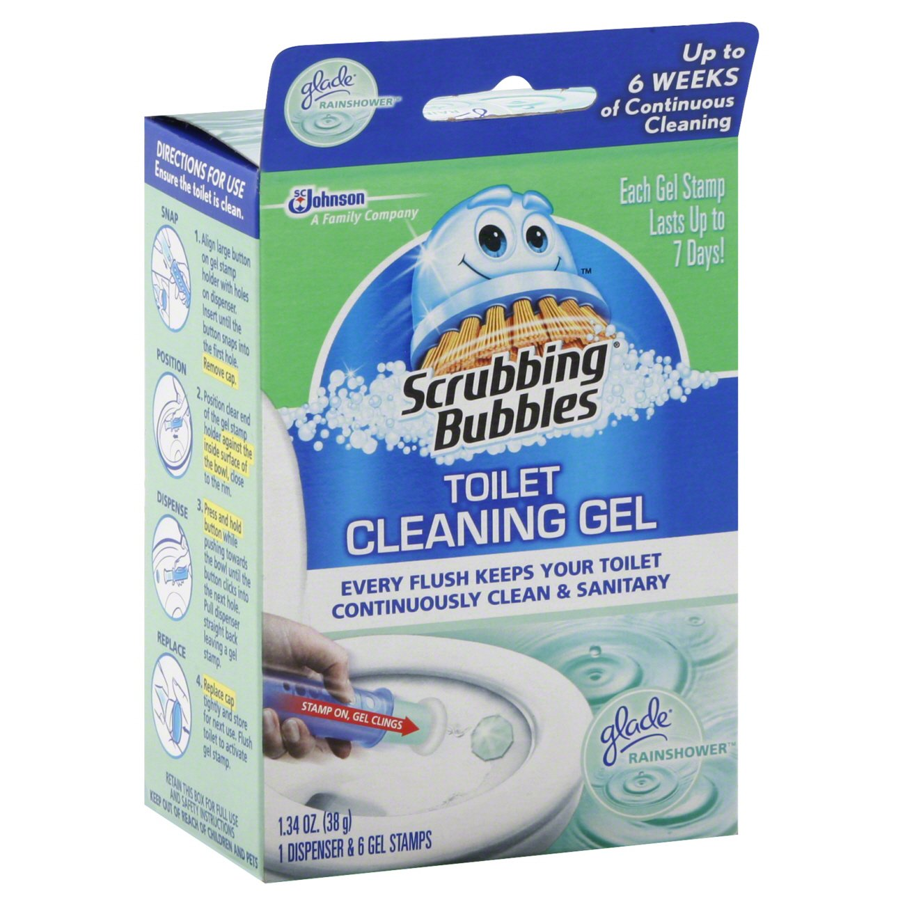 Scrubbing Bubbles Toilet Cleaning Gel