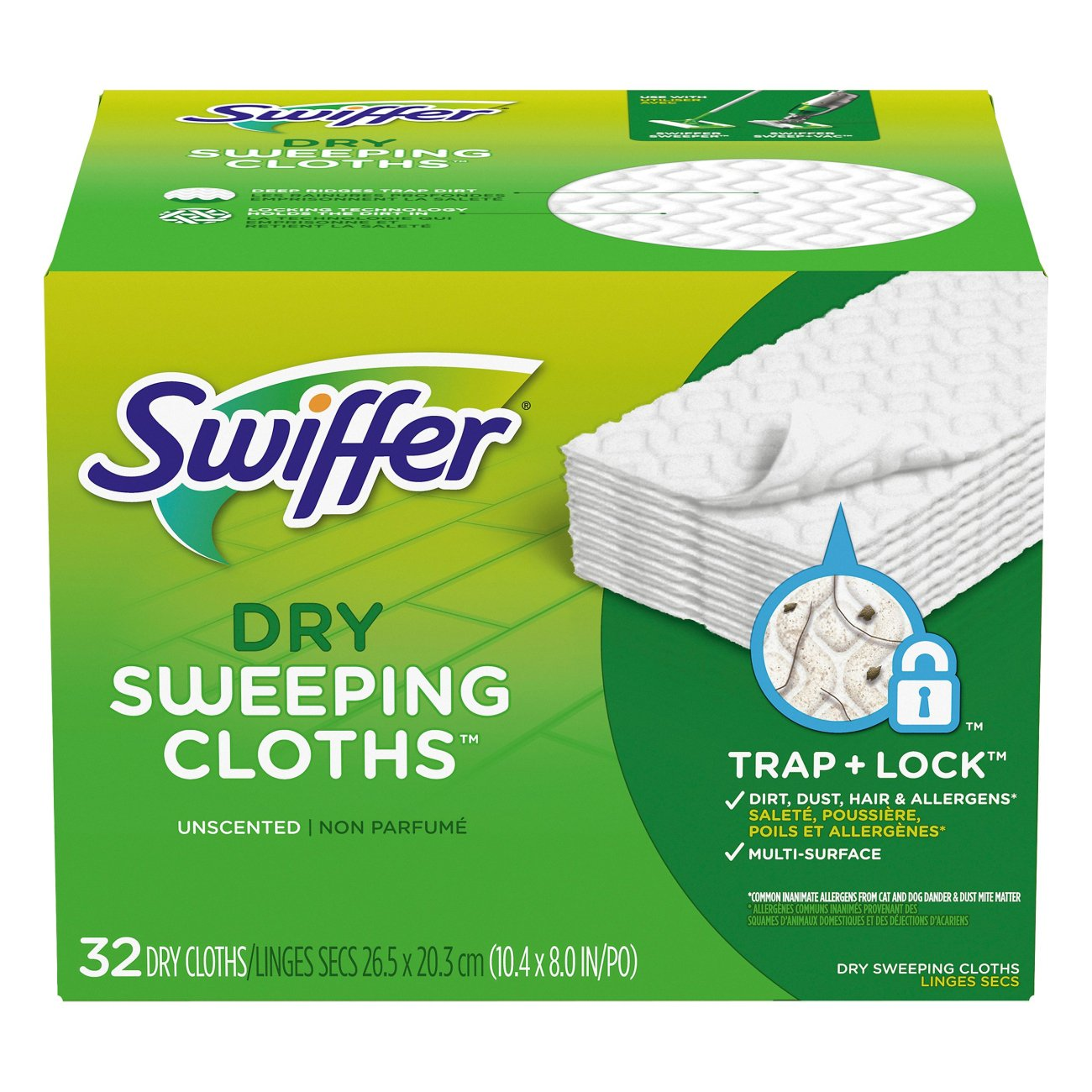 Swiffer<sup>&reg;</sup> Sweeper<sup>&reg;</sup> Dry Pad Refills - Unscented