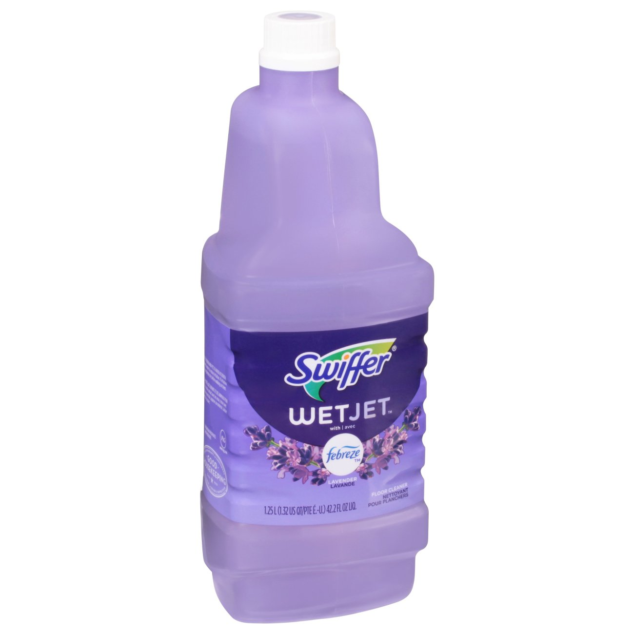 Swiffer<sup>&reg;</sup> WetJet<sup>&reg;</sup> Multi-Purpose Cleaner Solution Refill - Febreze<sup>&reg;</sup> Lavender & Vanilla Comfort<sup>&trade;</sup> Scent