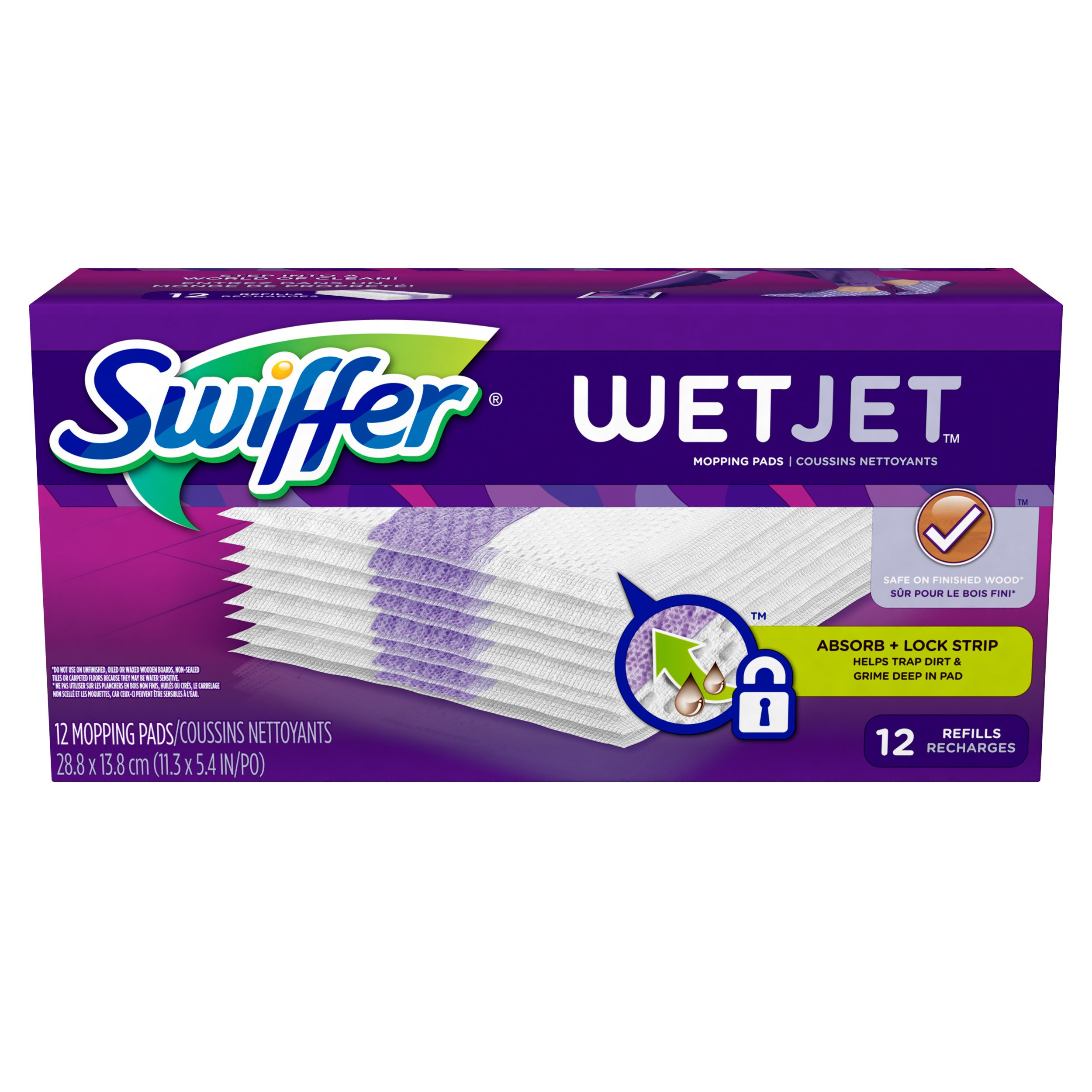 Swiffer<sup>&reg;</sup> WetJet<sup>&reg;</sup> Original Refills Cleaning Pads