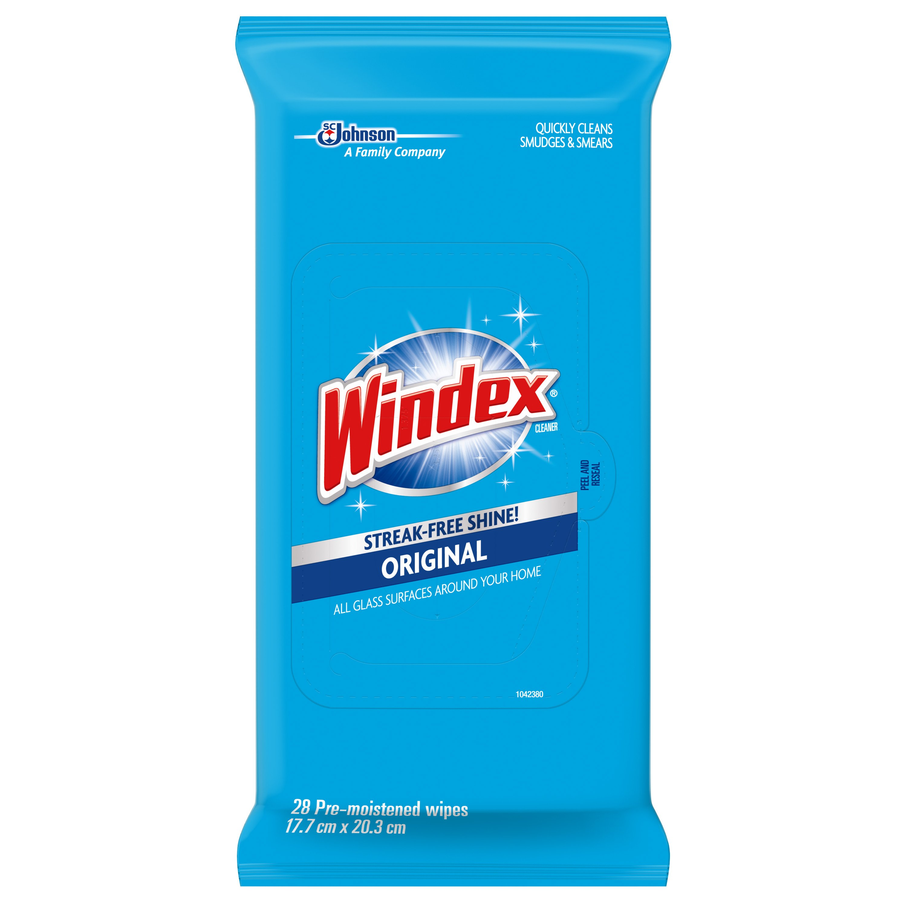 Windex Glass Cleaner Wipes