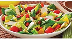 Citrus Chicken & Veggie Salad