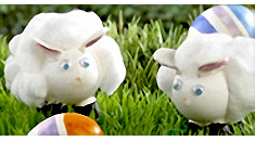 Using Simple Home And Art Supplies You Can Create The Cuddliest Egg Both Adults Kids Will Enjoy Decorating Easter Lambs