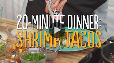20-Minute Shrimp Tacos