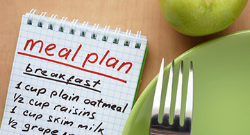 healthy meal ideas - 2 day plan