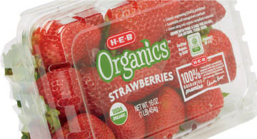 H-E-B Organics Strawberries
