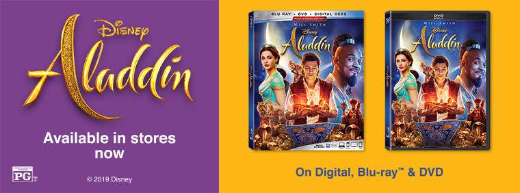 Disney's Aladdin: Available In Stores Now