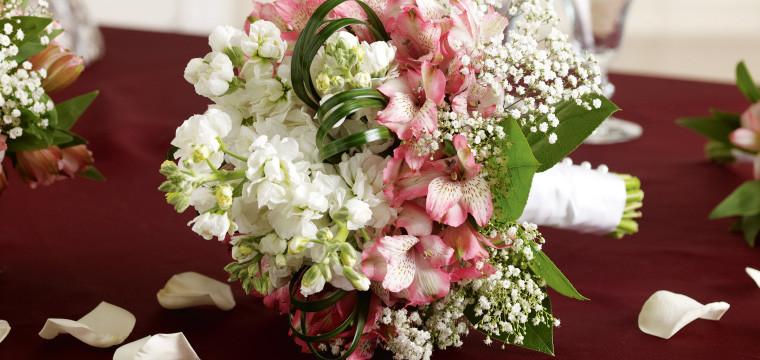 Alstroemeria Bridal Bouquet