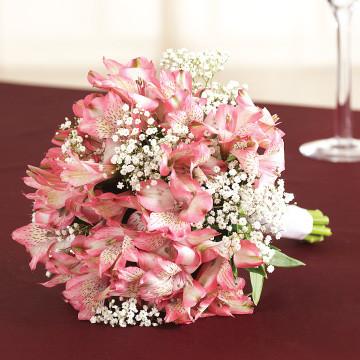 Alstroemeria Bridesmaids Bouquet