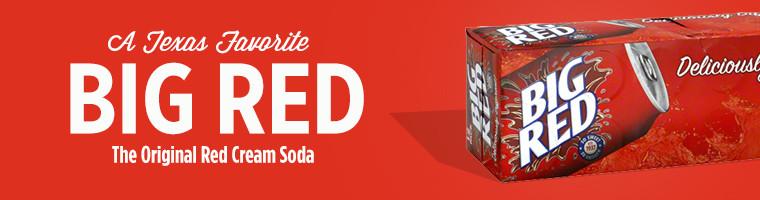 Big Red: The Original Red Cream Soda