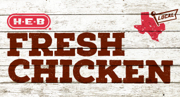 H-E-B fresh local chicken