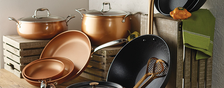 On Trend Copper Cookware Heb