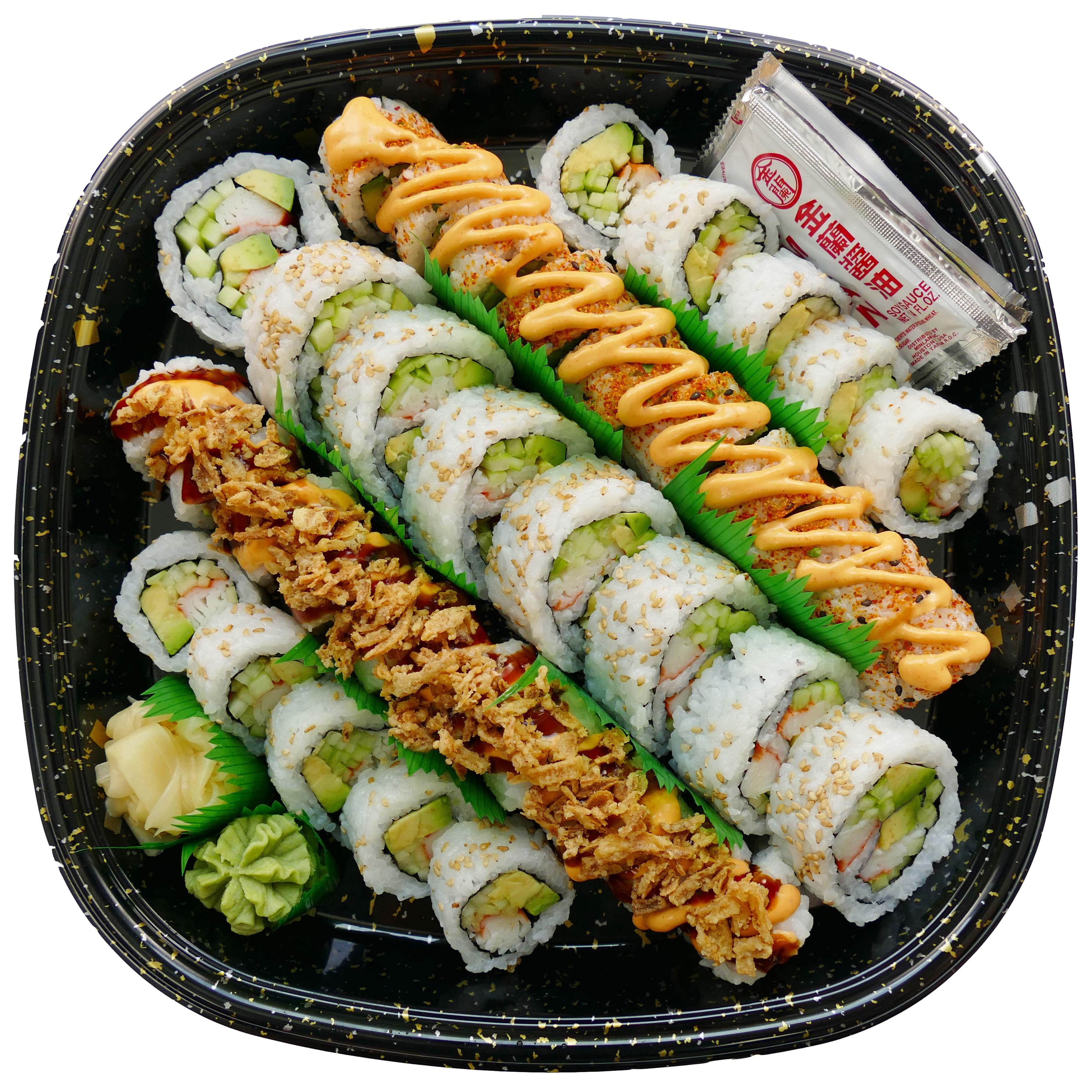 H‑E‑B Sushiya California Party Tray