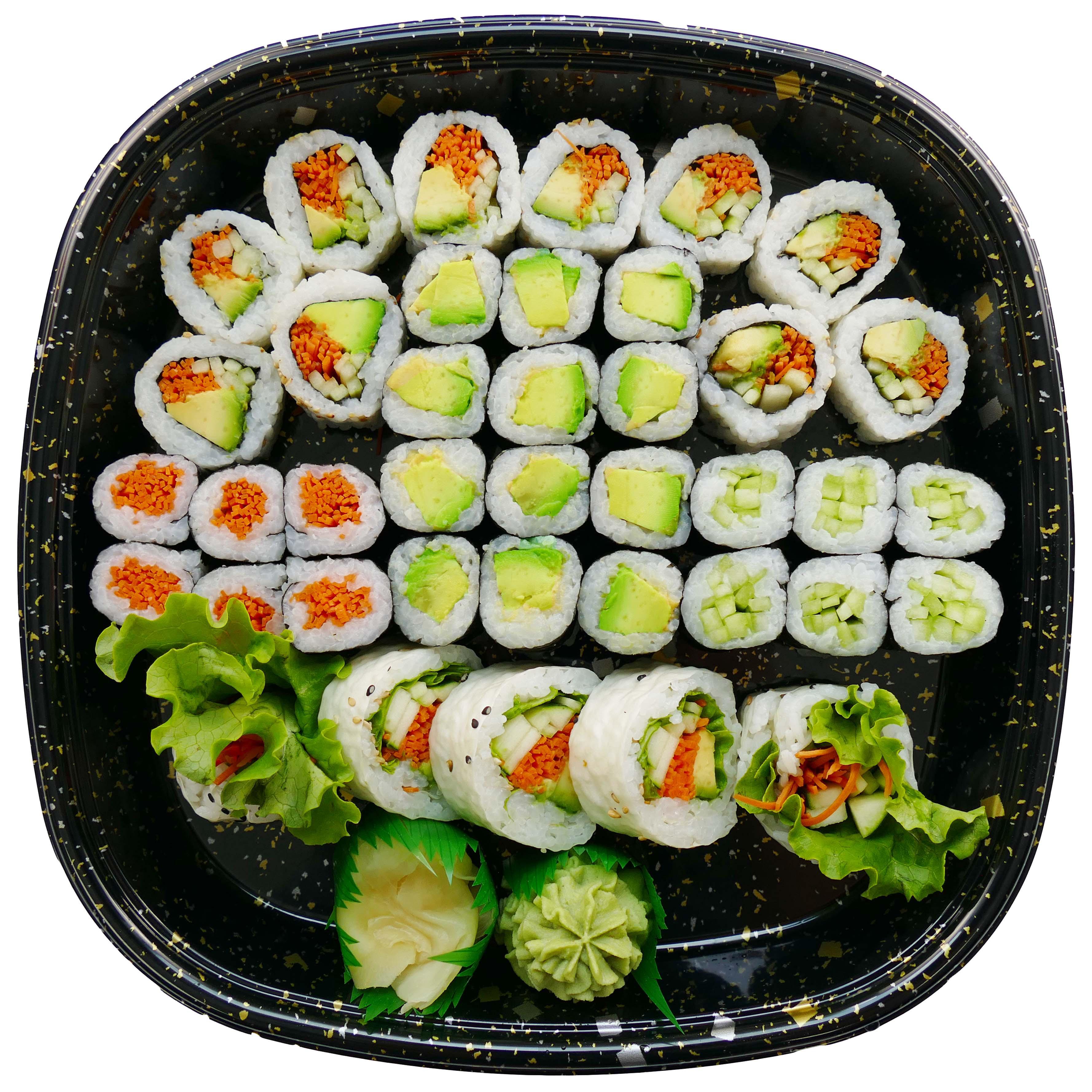 New! H‑E‑B Sushiya Vegetarian Party Tray