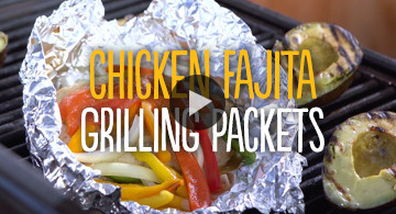 Chicken Fajita Grilling Packets