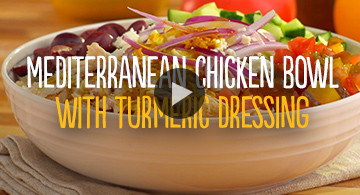 Watch Mediterranean Chicken Bowl Video
