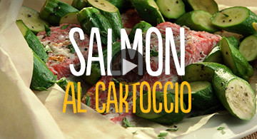 Salmon al Cartoccio
