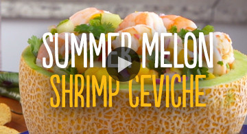 Watch Summer Melon Shrimp Ceviche Video