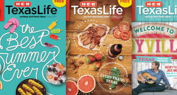 My H-E-B Texas Life Archive