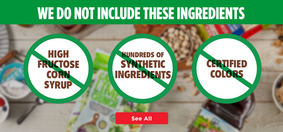 Excludes Hundreds of Artificial Ingredients