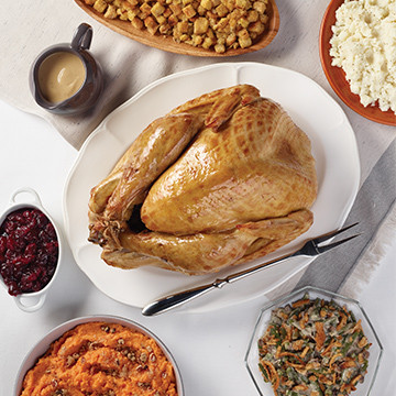 Oven Roasted Whole Turkey Meal