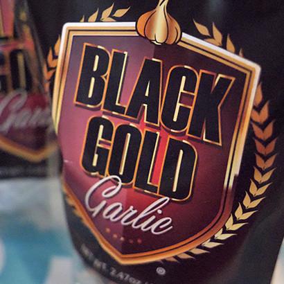 Texas Black Gold Garlic