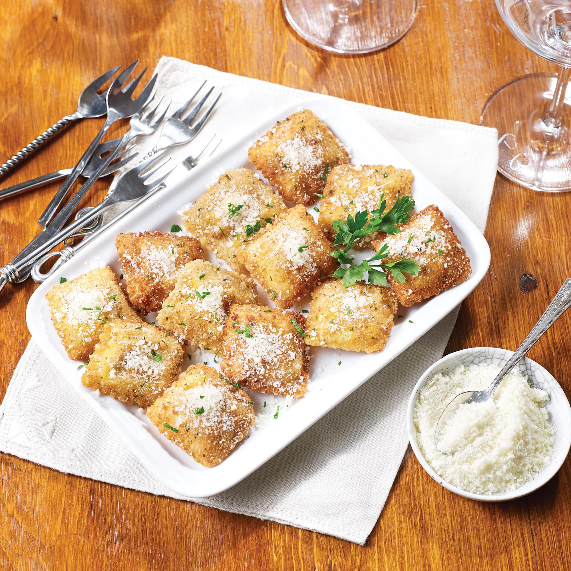 Ravioli Fritti Recipe