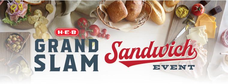 H-E-B Grand Slam Sandwich Event