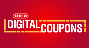 select coupons on hebcom or the heb app enter your mobile number at checkout and save select from dozens of coupons available