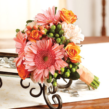 Seasonal Mix Bridesmaids Bouquet