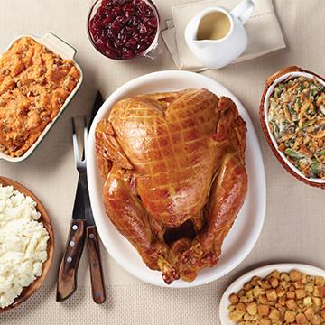 Smoked Whole Turkey Meal