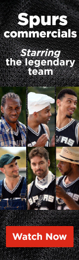 Check out the Spurs commercials starring the legendary team!