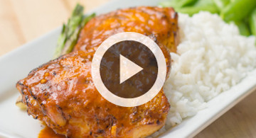 How to Grill Chicken Thighs Video