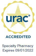 URAC Accredited Seal Specialty Pharmacy
