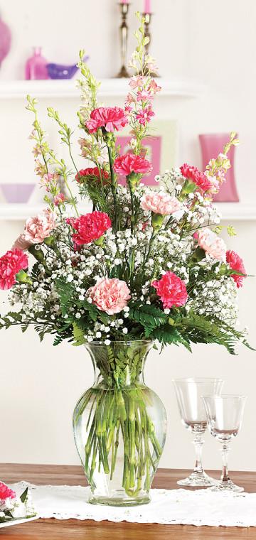Carnations Large Arrangement
