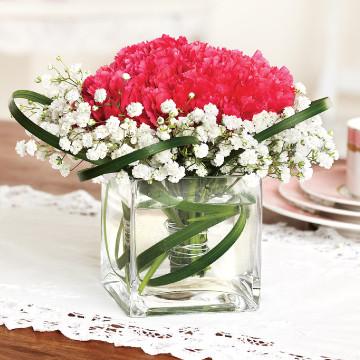 Carnations Medium Centerpiece