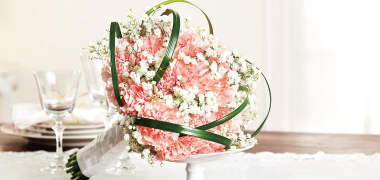 Carnations Bridal Bouquet