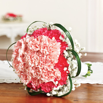 Carnations Maid of Honor Bouquet