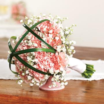 Carnations Toss Bouquet