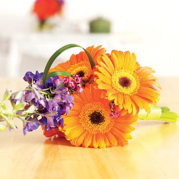 Gerberas Bridesmaids Bouquet
