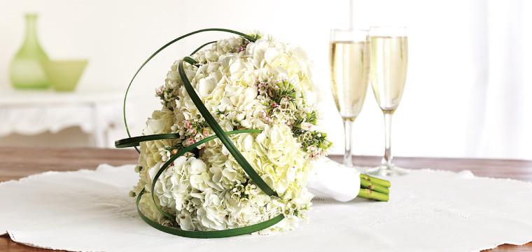 Hydrangea Bridal Bouquet