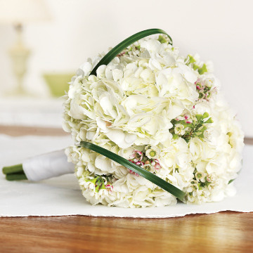 Hydrangea Bridesmaids Bouquet