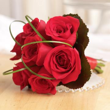 Rose Toss Bouquet