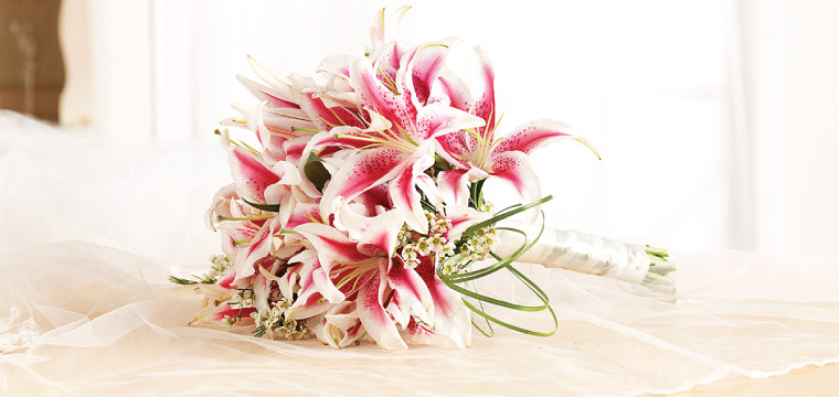 Stargazers Bridal Bouquet