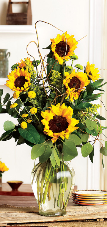Sunflower Large Arrangement
